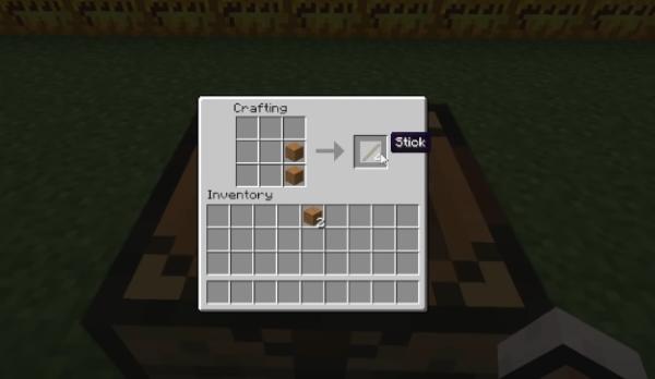 Палки в Minecraft