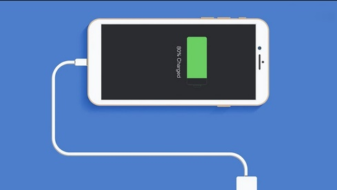 Зарядка айфон 100%