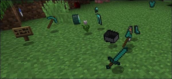 Добыча после смерти игрока
