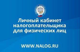 Личный кабинет Налог.ру