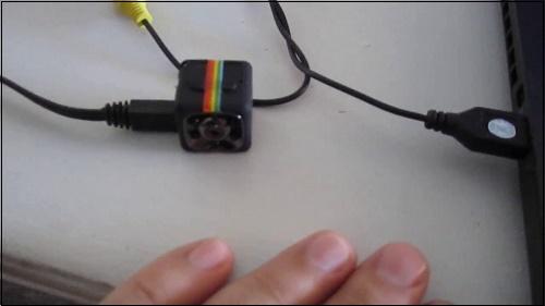 Зарядка камеры SQ11