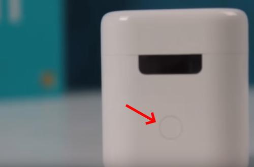 Кнопка на корпусе кейса