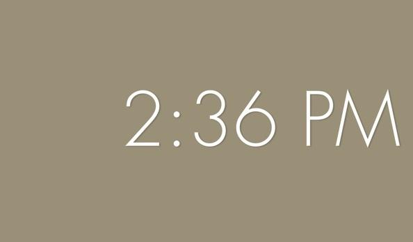 ZenClock приложение