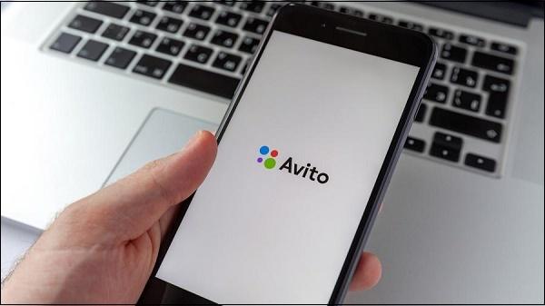 Приложение Avito на телефоне