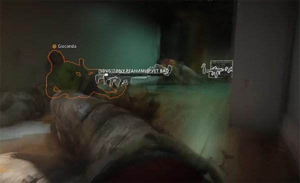 Раненый в CoD: Warzone