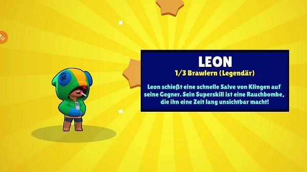 Леон в Бравл Старс