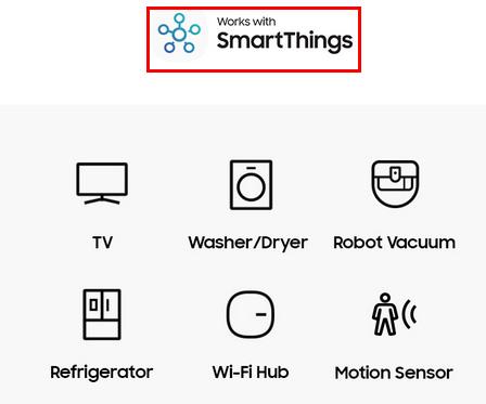 Знак поддержки SmartThings