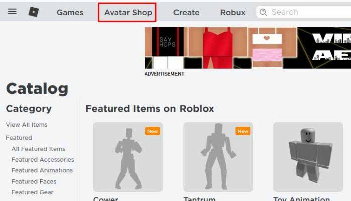Avatar Shop