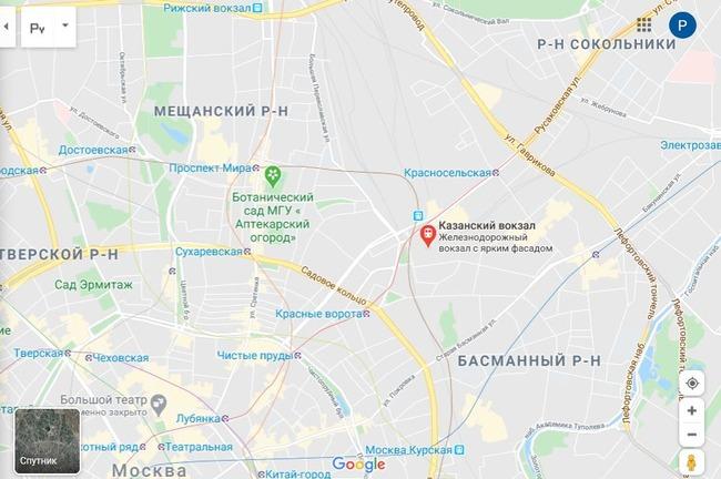 Сортировочный центр 102000 на карте