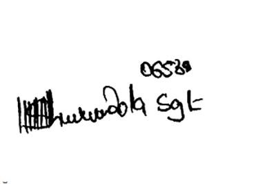 Необычная подпись