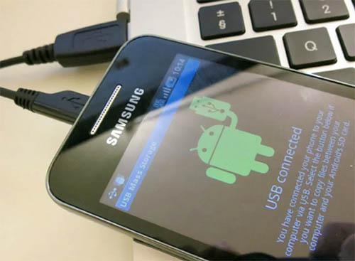 Подключение смартфона к ПК или ноутбуку