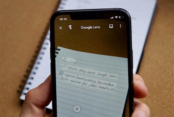 Расшифровка текста в Google Lens