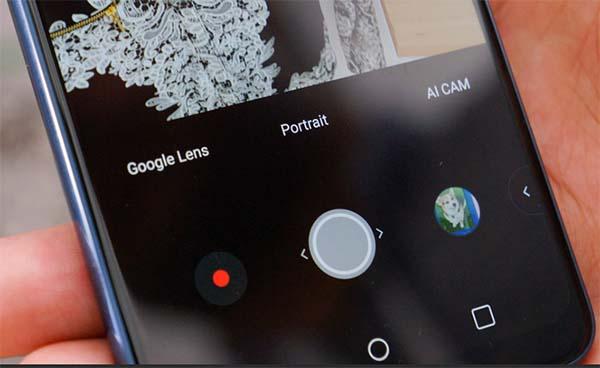 Кнопка для поиска по фото в Гугл Ленс