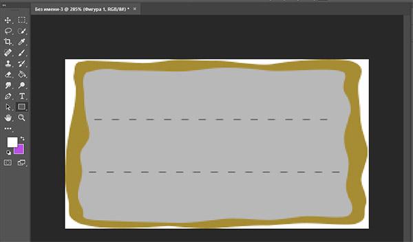 Бейдж в Adobe Photoshop