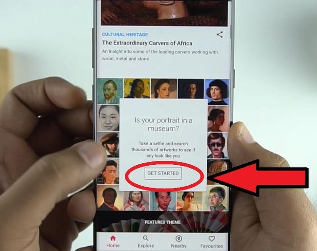 Приложение Google Arts