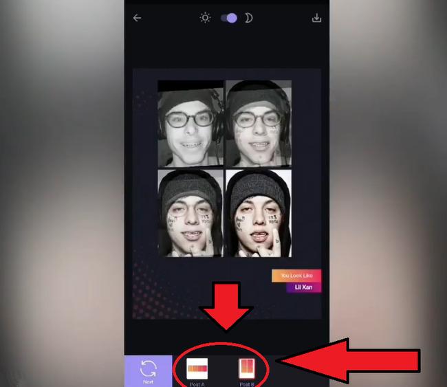 Опции вида изображения