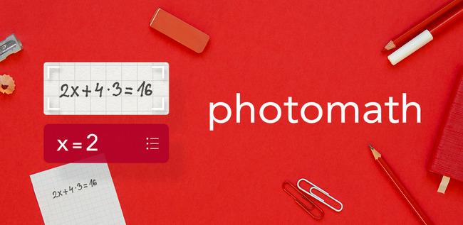 Промо к Photomath