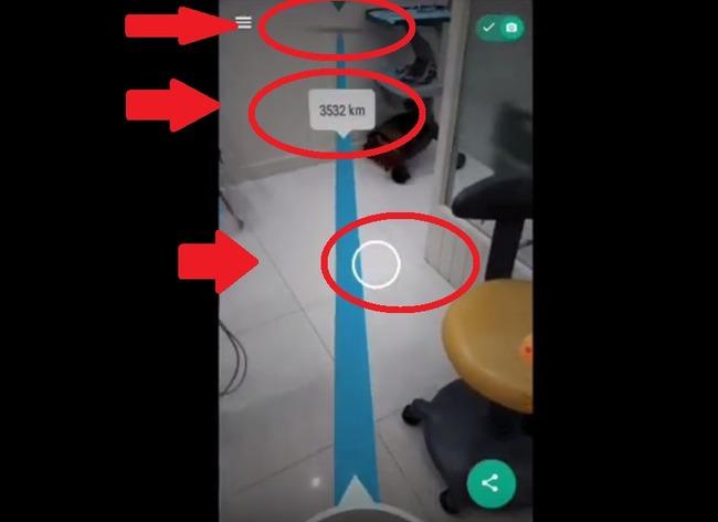 Qibla в Гугл приложении