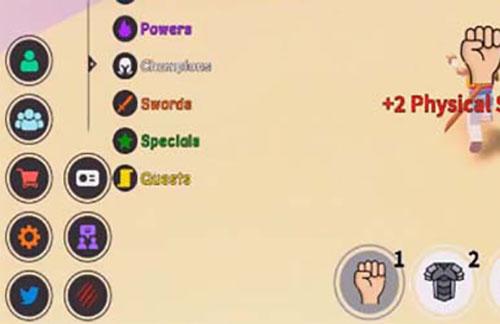 Игровая панель с кнопками