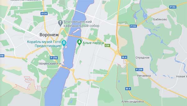 Сервис Google Maps