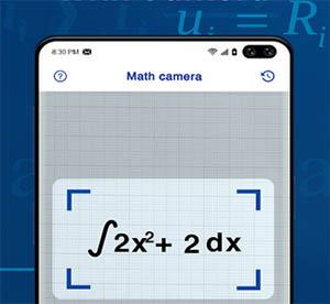 Фотография уравнения