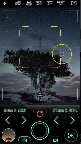Приложение для Андроид для съёмки ночью