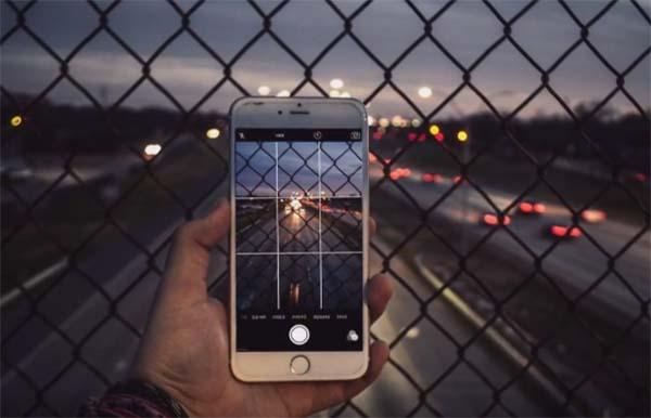 Ночная съёмка на телефон