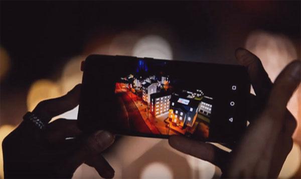 Снимок ночью на телефон