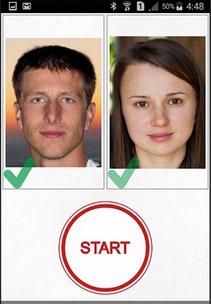 Приложение Тест любви по фото