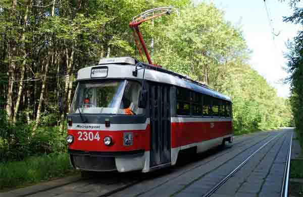 Московский трамвай