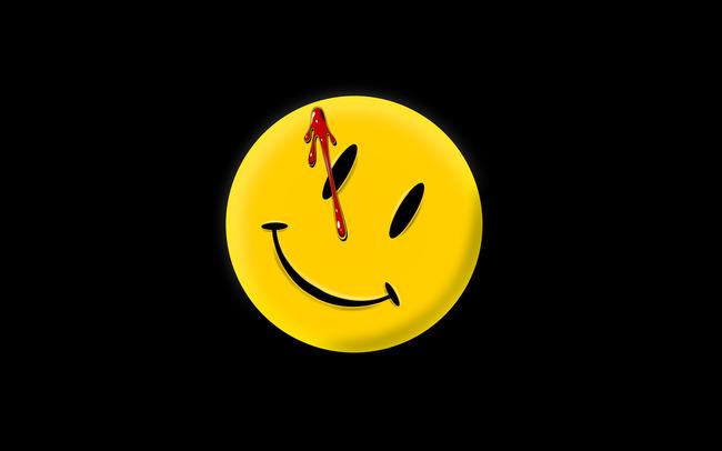 Emoji с кровью на черном фоне
