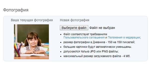 Аватарка для электронного дневника