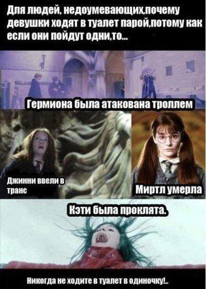 Мем про Гарри Поттера
