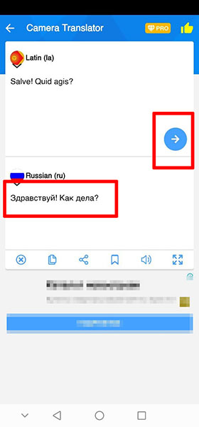 Перевод с латинского на русский