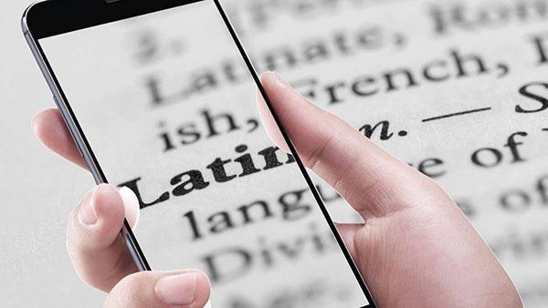 Распознавание латыни