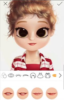 Создание аватара в приложении