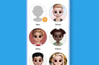 Готовые персонажи в Dolify