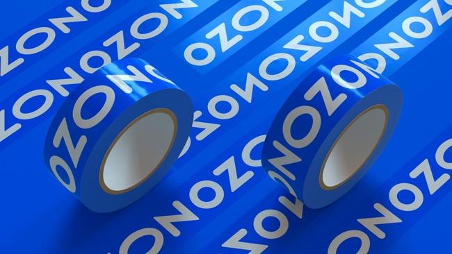 Клейкая лента с лого Ozon