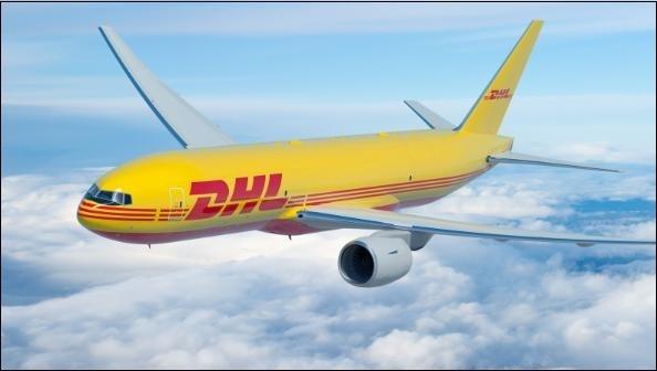 Самолёт DHL