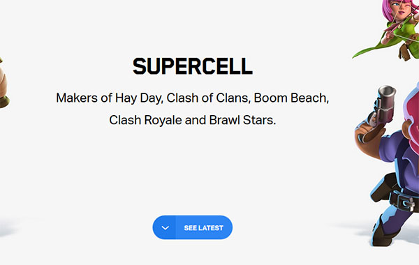 Сайт Суперселл