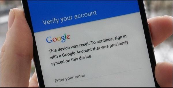 Скрин верификации аккаунта Гугл