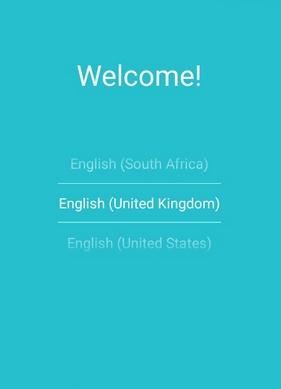 Экран Welcome