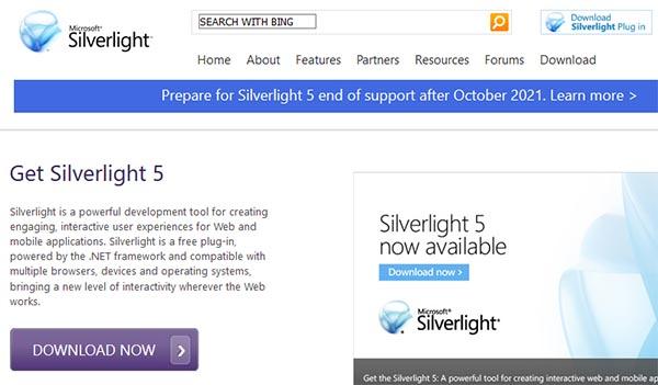 Приложение Silverlight