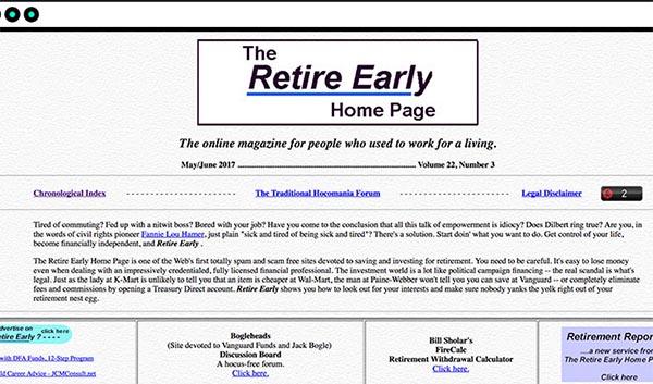 Старый веб-сайт
