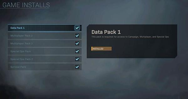 Активные паки в игре