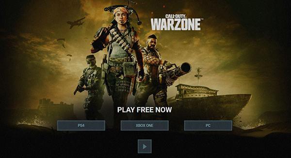 Call of Duty: Warzone доступная на разных платформах