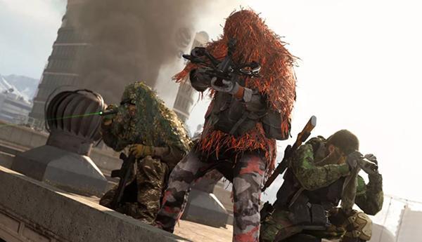 Кадр из игровой сессии Call of Duty: Warzone