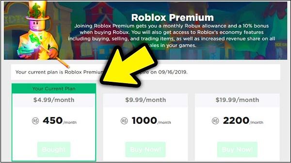 Цены Роблокс Премиум