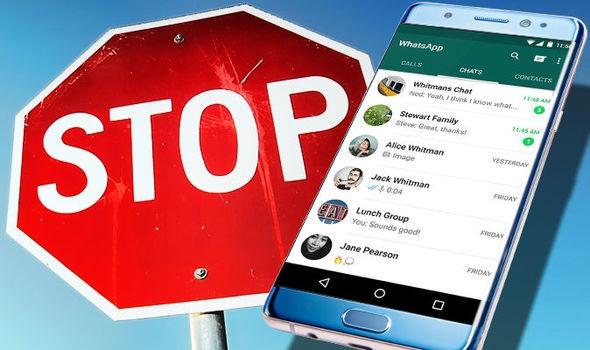 Изображение телефон и Stop