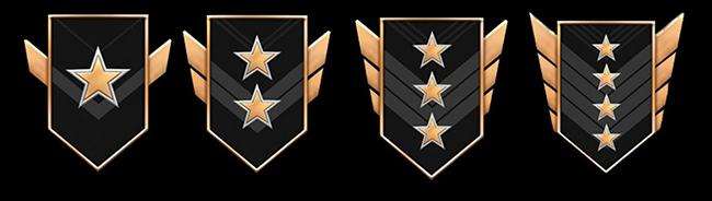 4 золотых ранга
